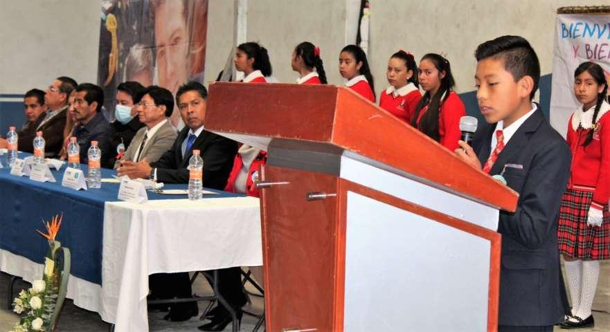Rinden cuentas legisladores del 10º parlamento de niños de México