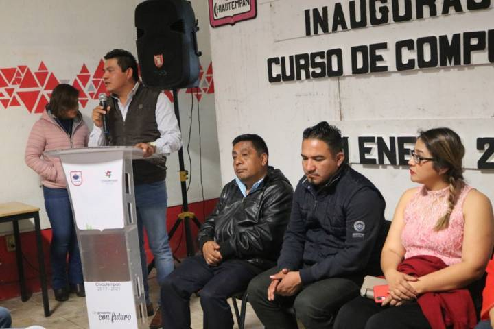 Ayuntamiento de Chiautempan promueve herramientas educativas