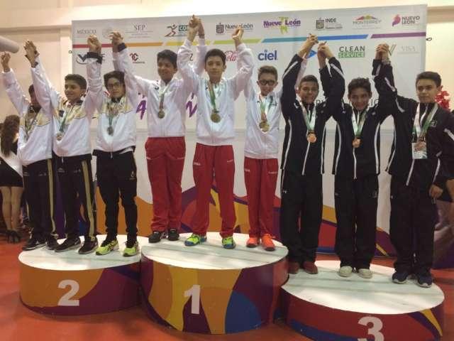 Suma Tlaxcala tres medallas de oro este lunes en Olimpiada Nacional 2017