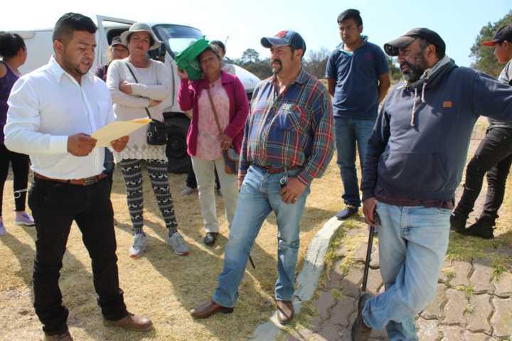 Alcalde de Calpulalpan logra acuerdo con vecinos de la comunidad de La Venta
