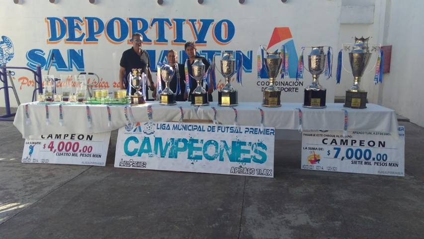 ¨Nado Por Mi Corazón¨ por iniciar Liga Municipal de Futsal