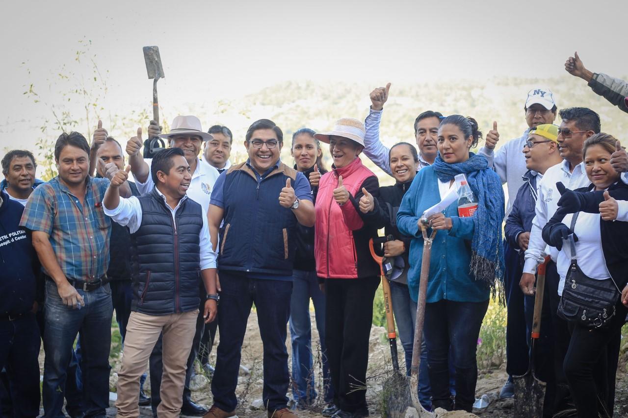 Se superó la meta de reforestación Totolac Respira 2017: Giovanni Pérez Briones