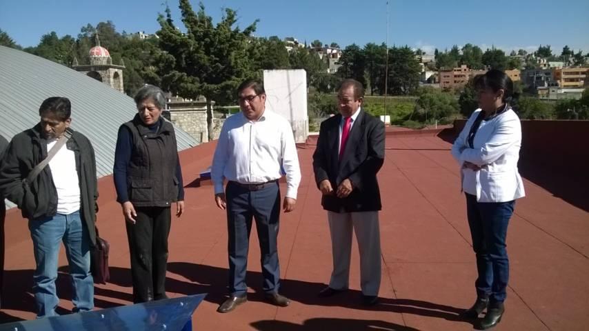 Pérez Briones entrega en la Trinidad Chimalpa