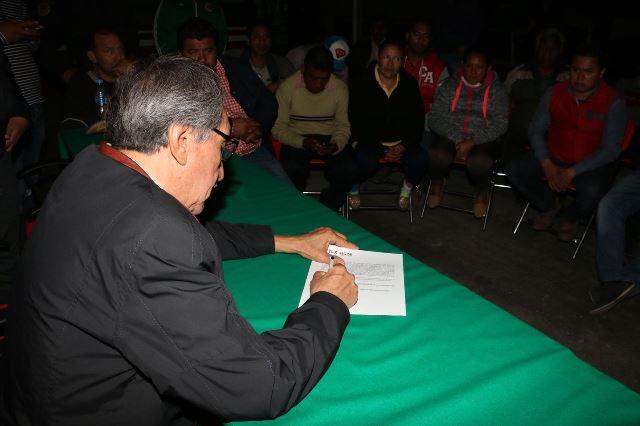 Tras acuerdo con Segob, pobladores liberan el Arco Norte
