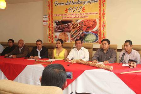 Invitan a Feria del Bastón y del Pipián 2018 en Tizatlán