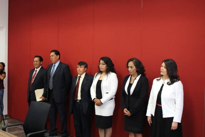 Entrevistan a aspirantes a magistrados del Tribunal De Justicia Administrativa