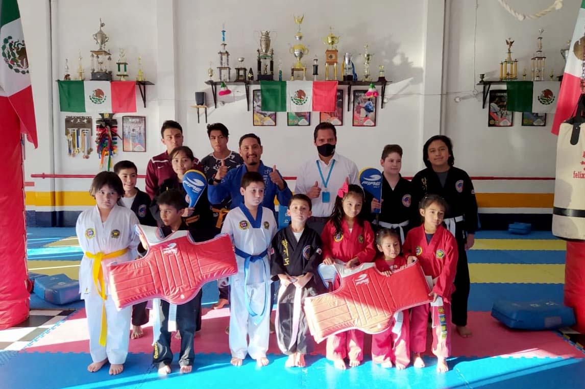 Fire Sports apoya al Moo Duk Kwan Tlaxcala