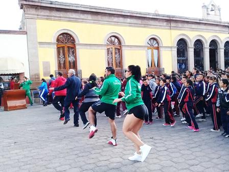 Tlaxco participa en Semana de la Cultura Física y Deporte