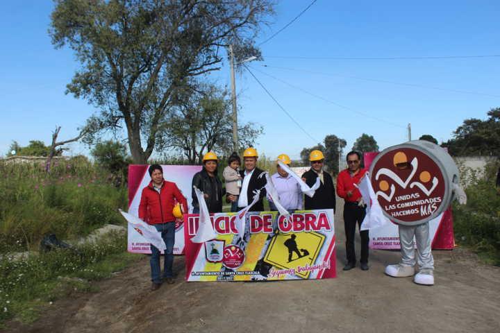 Ampliación de red de energía eléctrica en Guadalupe Tlachco y San Lucas Tlacochcalco