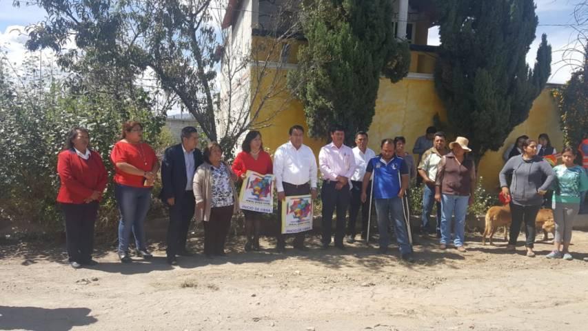 Alcalde inicia trabajos de pavimentación en la 2 de noviembre y 12 de diciembre