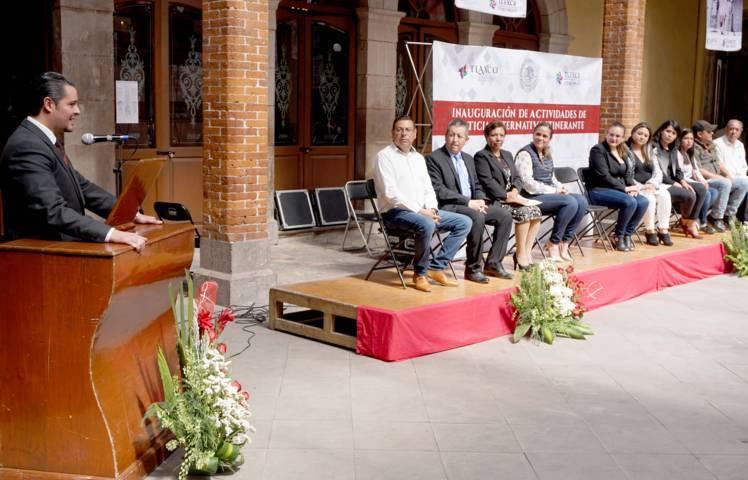 Lleva el TSJE servicios gratuitos a ciudadanos de Tlaxco