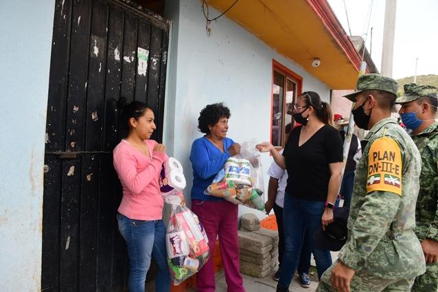 Culmina Tlaxco primera etapa de apoyo a familias vulnerables