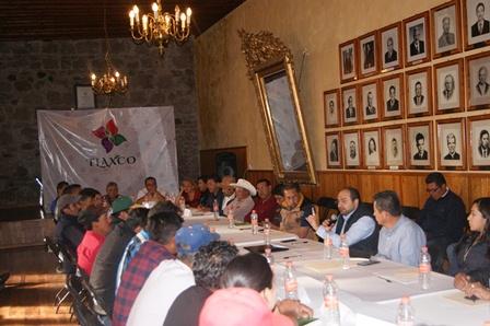 Capacitan a presidentes de comunidad del municipio de Tlaxco
