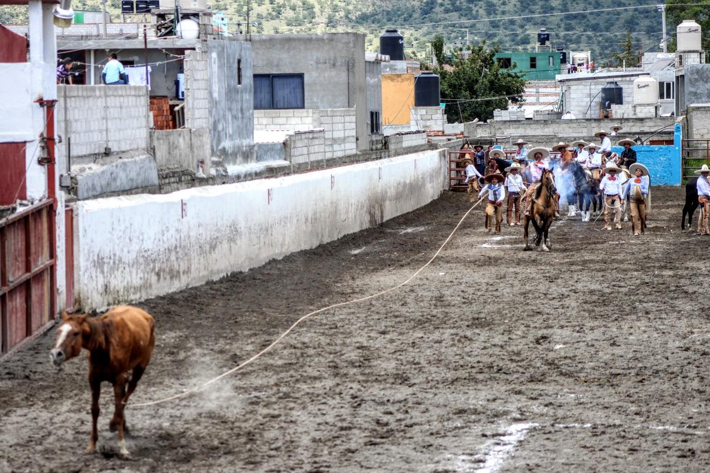 Festejo charro con la familia Vega en Huacaltzingo