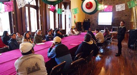 Presentan en el ayuntamiento de Tlaxco el documental Suspirium