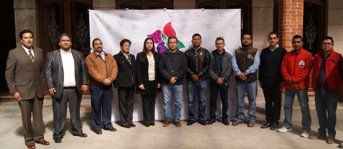 Toma protesta Gardenia Hernández a nuevos funcionarios municipales en Tlaxco