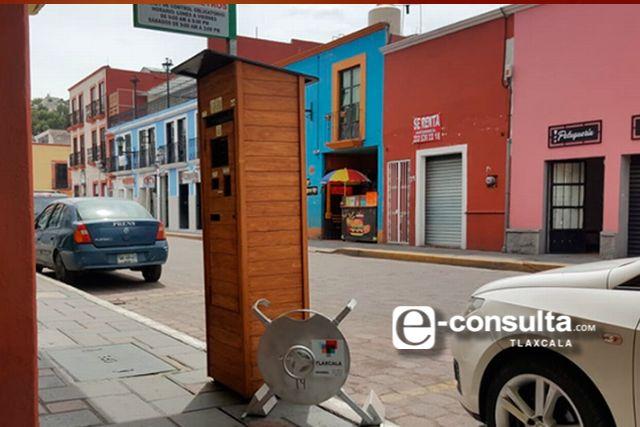 Reanudarán servicio de parquímetros en la capital