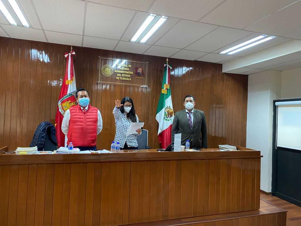 Nombra el Pleno del TJA a Magistrada María Isabel Pérez González como Presidente