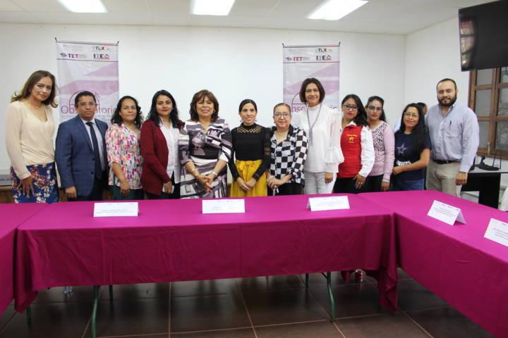 Encabeza TET Observatorio de Participación Política de las Mujeres