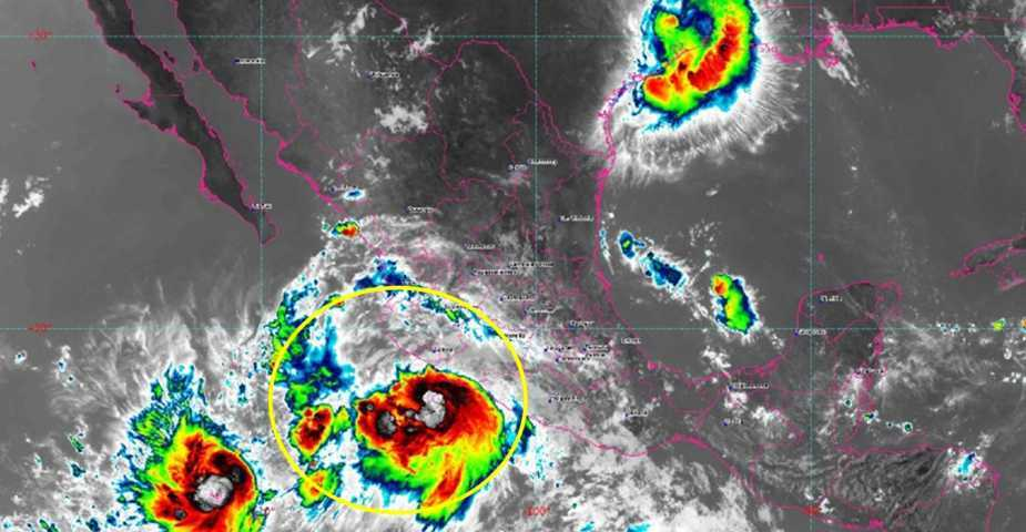 La tormenta tropical Lorena se dirige hacia Baja California Sur