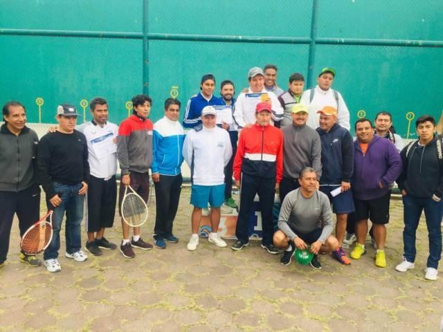 Se celebró primer torneo de frontenis en Apizaco - sigue impulso al deporte municipal