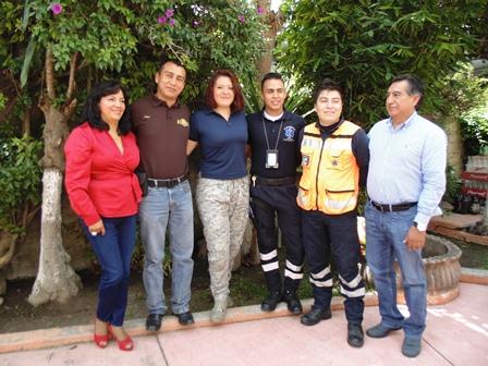 Reconoce Ayuntamiento de Totolac labor de protección civil