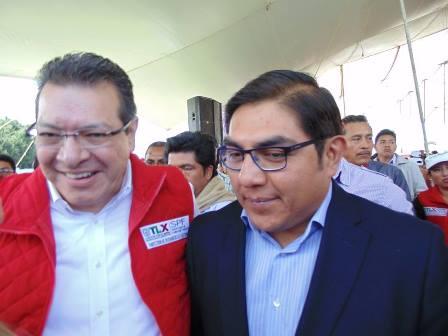 Agradece alcalde de Totolac apoyo del gobernador Mena