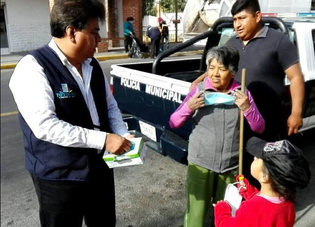 "Participa Totolac en jornada ""Por un Tlaxcala Limpio"""