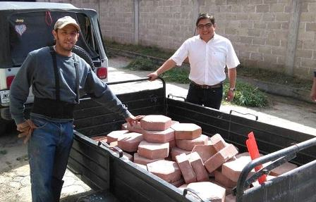 Encabeza Giovanni Pérez faena comunitaria en Zaragoza