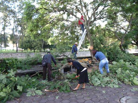 Continúa en Totolac programa de saneamiento del río Zahuapan