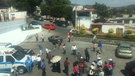 Fracasa intentona de tomar presidencia municipal de Totolac