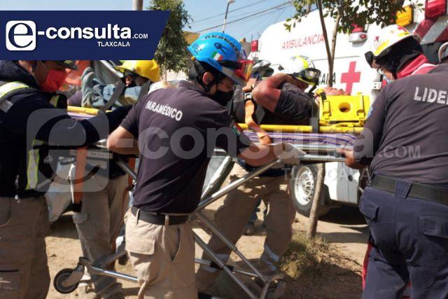 Trabajador herido, le cayó una estructura mientras trabajaba en la Central