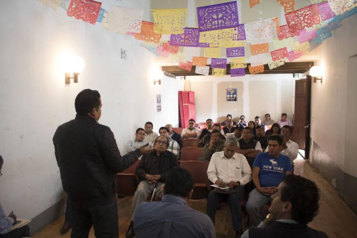 Da apertura el Ayuntamiento De Chiautempan a representantes de transportistas