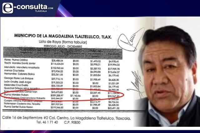 El Picapiedra se asignó en el 2020 casi 36 mil pesos de aguinaldo