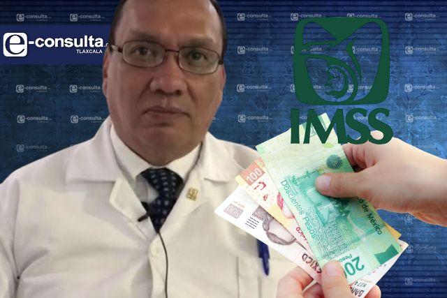 Se enriquece funcionario transa del IMSS