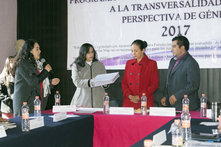Alcalde conforma Sistema Municipal de Igualdad, mediante 4 proyectos