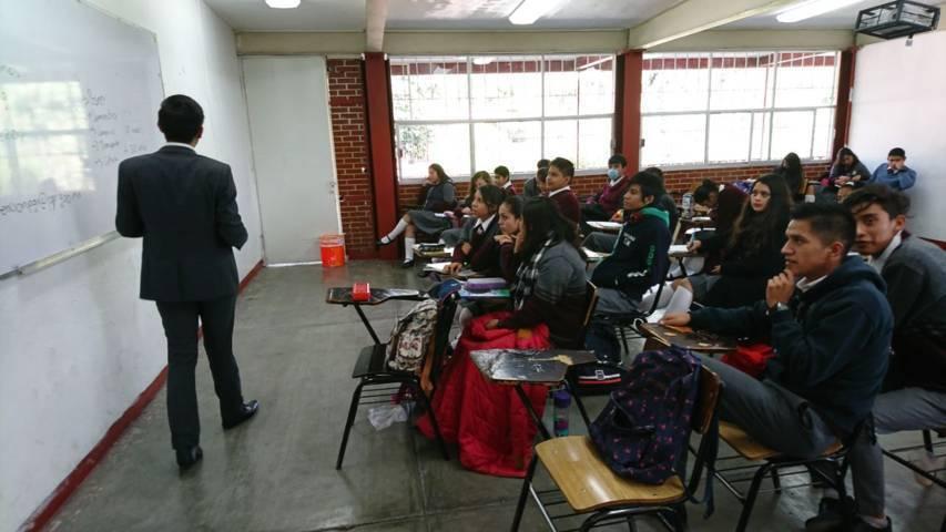"""Imparten plática a estudiantes denominada """"Trata De Personas Y Delitos Cibernéticos"""""""