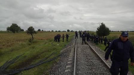 Tlaxcala registró crecimiento del 57.6 por ciento en robo a trenes