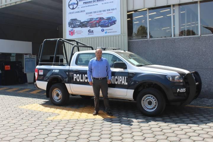 Sanabria Chávez refuerza la seguridad con 3 patrullas nuevas