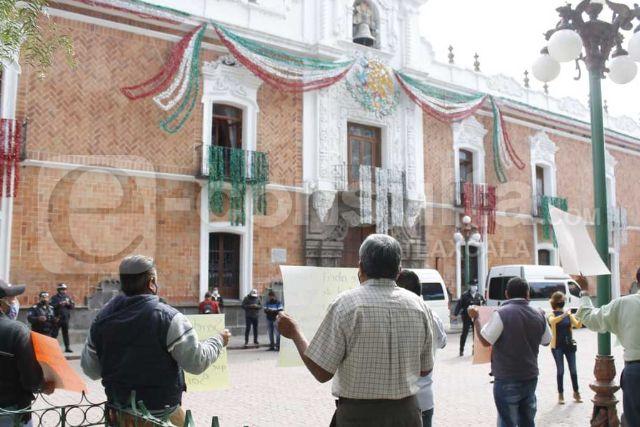 Habrá manifestaciones durante la visita de AMLO en Tlaxcala