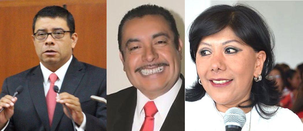 Florentino, Padilla y Ávalos se disputan la candidatura del PRI al gobierno