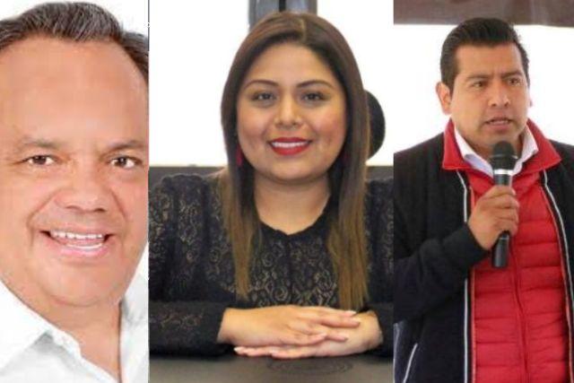 Aguilar, Garay y Pérez van por las tres diputaciones federales de Tlaxcala