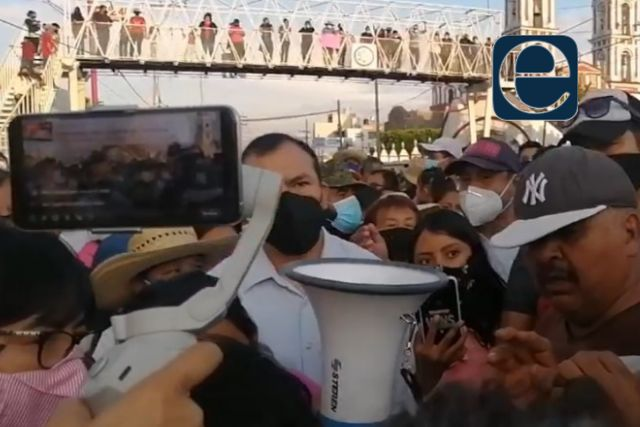 Se manifiestan en Xicohtzinco, piden elecciones extraordinarias