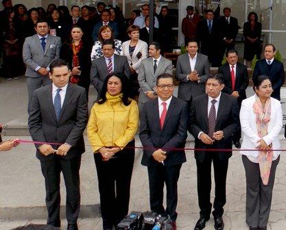 Inauguran en Calpulalpan nuevas instalaciones del TSJE