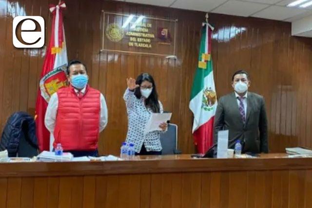 María Isabel Pérez es la nueva presidenta del TJA; salientes dejan finanzas sanas