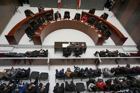 Ocupa magistrada Cordero informe de labores para autoelogiarse