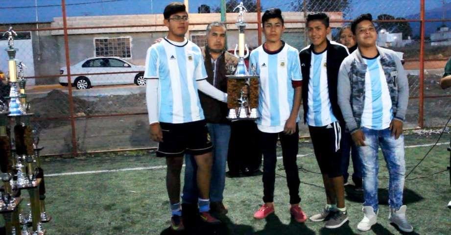 Clausura Rojas Meza 2do torneo de futbol 7