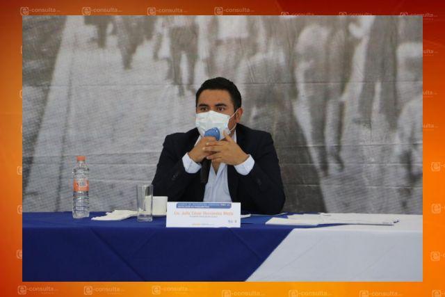 A 18 meses, alcalde de Apizaco espera se concrete donación de predio para Guardia Nacional