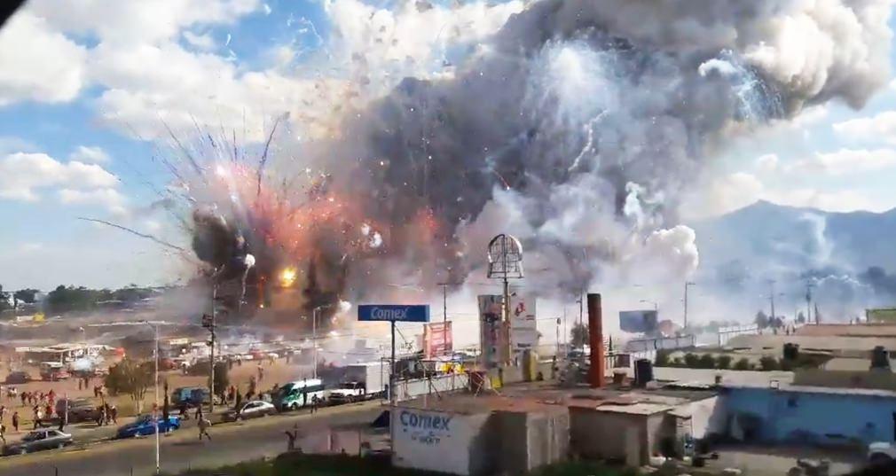 Recibirá ISSSTE a heridos por la explosión en Tultepec