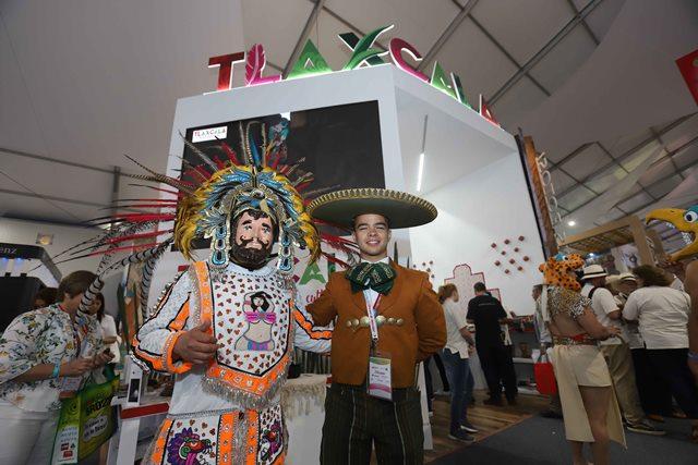 Tlaxcala comparte su riqueza en el Tianguis Turístico 2018